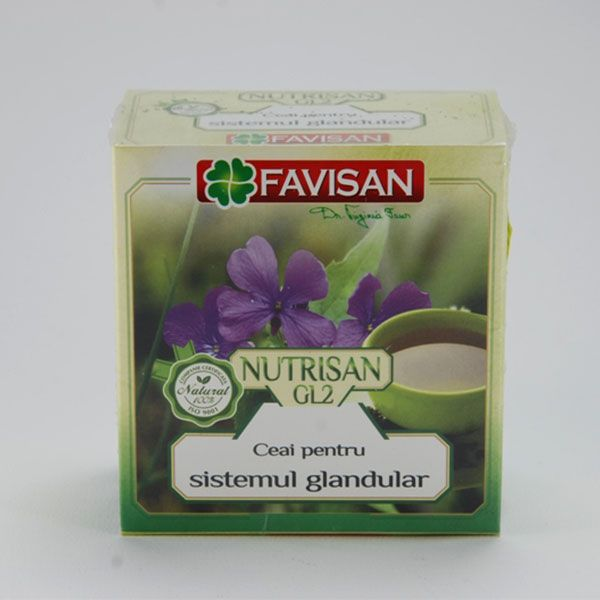 Nutrisan GL 2- ceai glandular