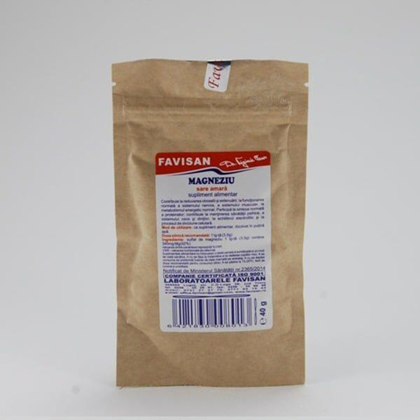 Sare amară (sulfat de magneziu)
