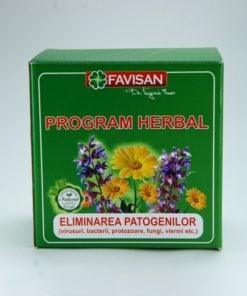 Program Herbal pentru eliminarea patogenilor