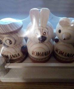 Set 3 solnițe figurine