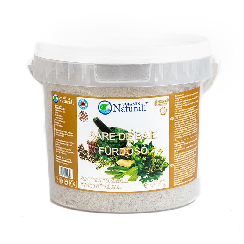 Sare de baie plante 3 kg