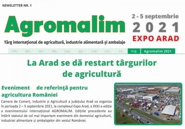 Prima Materia la Agromalim Expo Arad