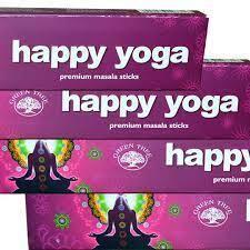 Bețișoare parfumate Happy Yoga