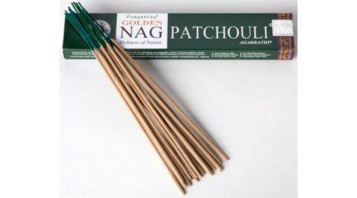 Bețișoare Golden Nag Patchouli