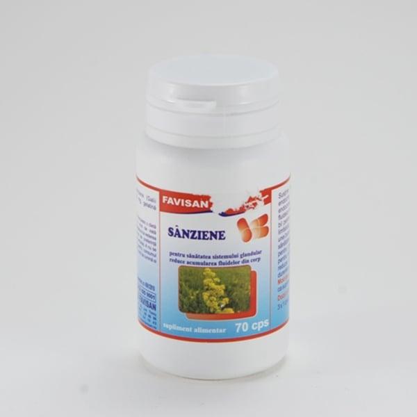 Sânziene capsule